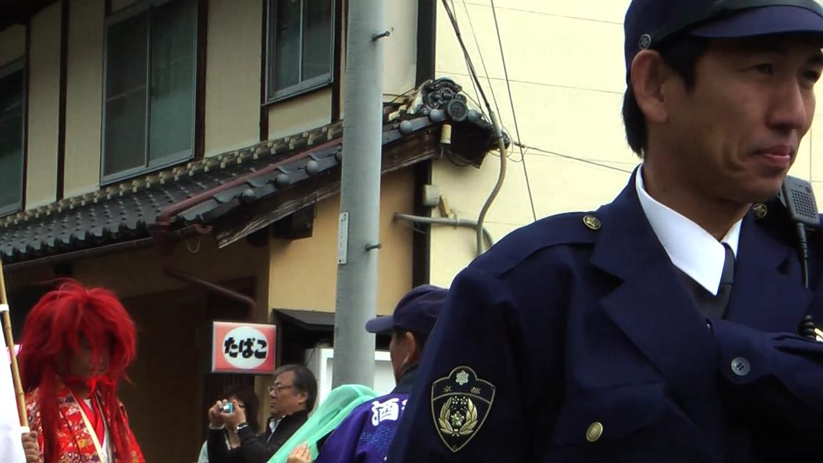 田舎で起きた京都府警察官による...